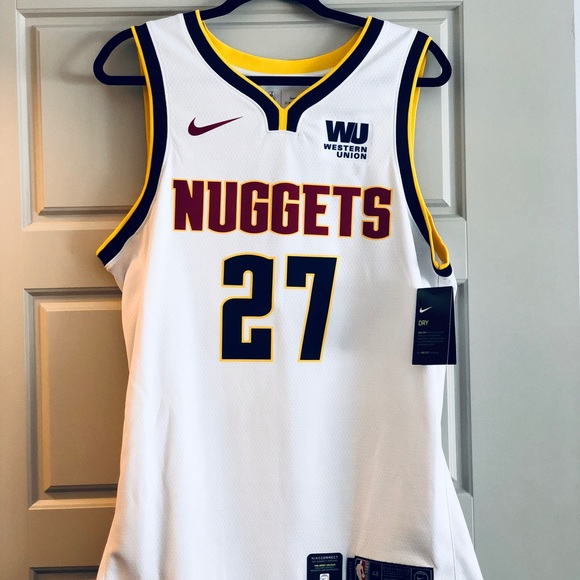promo code d563b 7cc41 Nike Jamal Murray #27 Denver Nuggets Jersey NWT